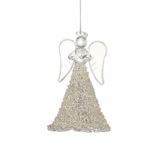 Hanging Glass Angel