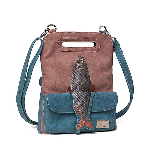 Mermaid Range 'Fishy' Bag in purple