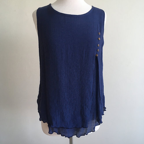 Bamboo Cotton Vest Top SO7