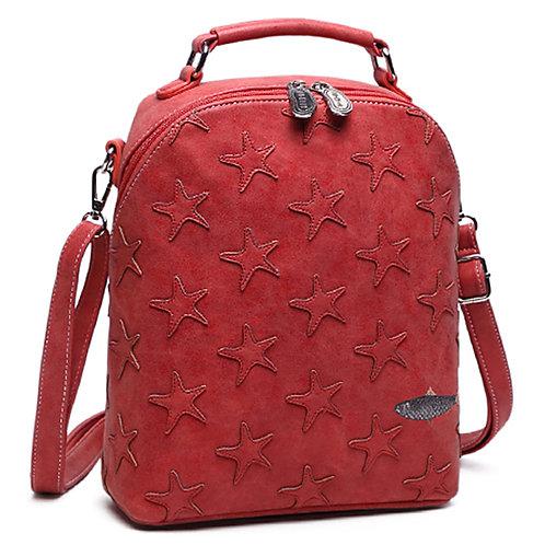 Mermaid Range 'Oceane' Starfish Bag in red.