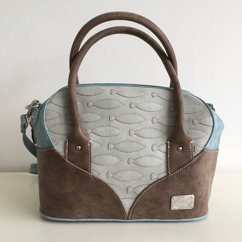 Mermaid Range 'Maris' Bag in light grey
