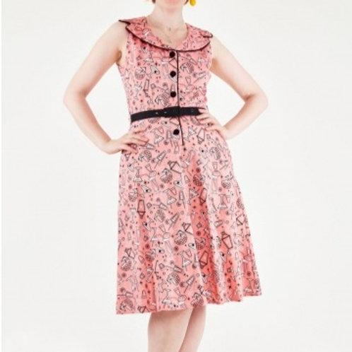 Pink Cocktail Dress 8356