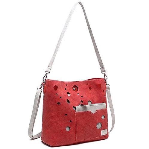 Mermaid Range 'Aquarius' Bag in red.