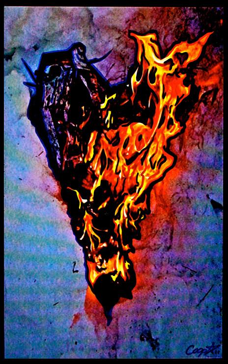 heart a flame