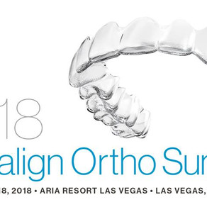 Michelle shimmin at the 2018 Invisalign Ortho Summit