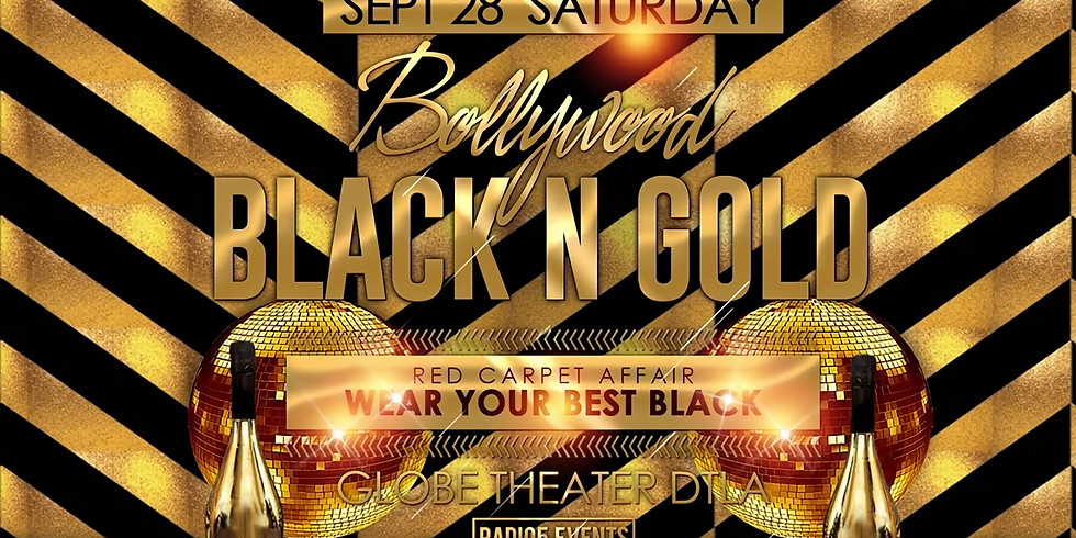 Bollywood Black & Gold Party