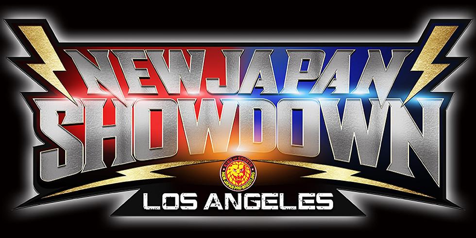 New Japan Showdown in Los Angeles