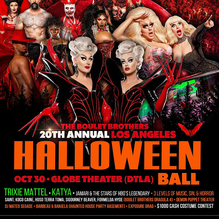 20th Annual Halloween Ball by Boulet Brothers