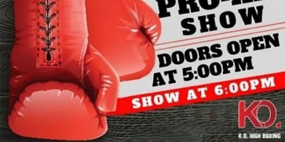 K.O. High Boxing Pro-Am show