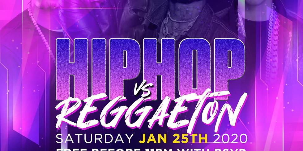 HIP-HOP VS REGGAETON