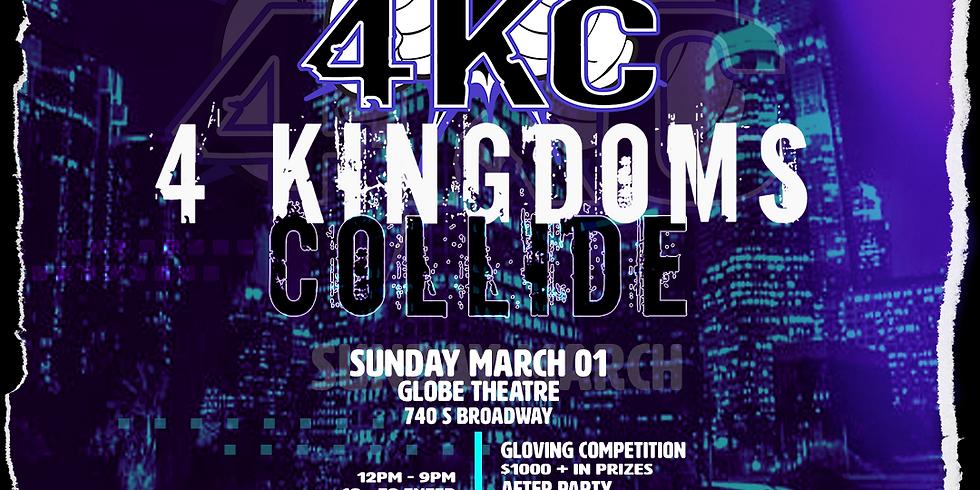4 Kingdoms Collide Gloving Competition