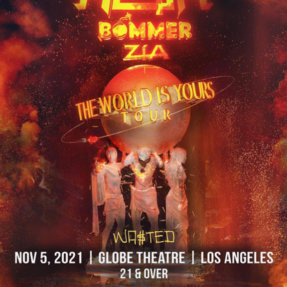 He$h: The World is Yours Tour w/ Bommer & Zia