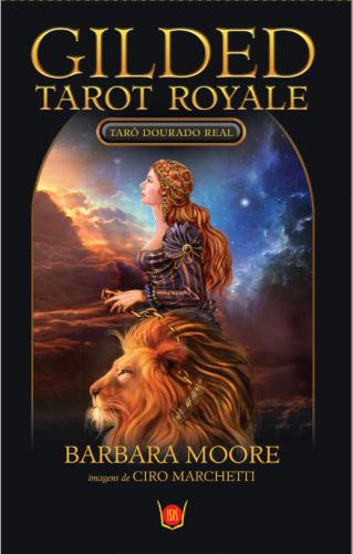 Gilded Tarot Royale - Tarô Dourado Real (78 cartas + livro)