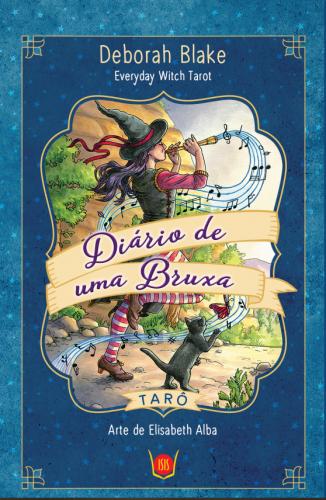 Tarô Diario de uma Bruxa (78 cartas +livro)