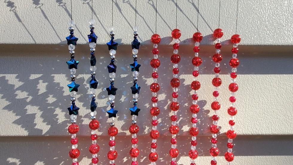Windchimes Red, White & Blue