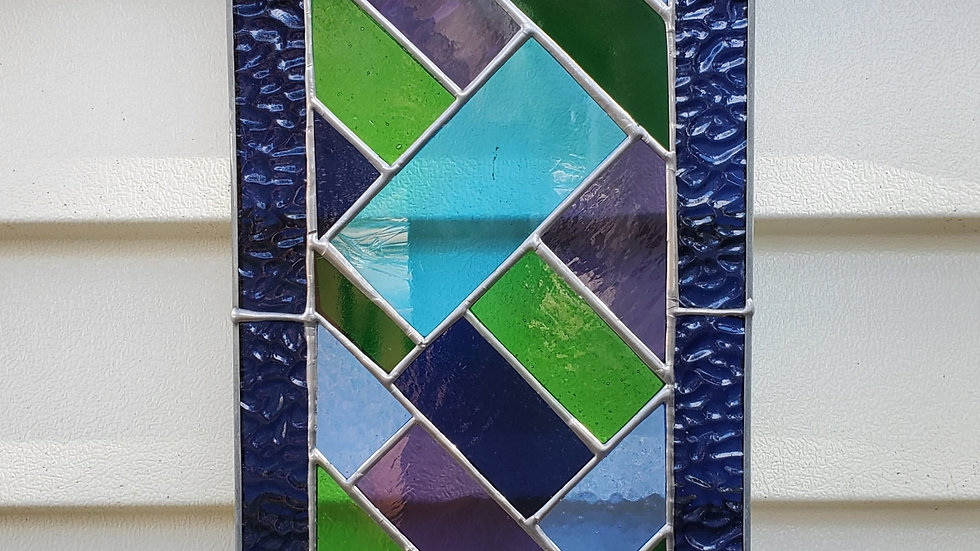 Blue & Green panel