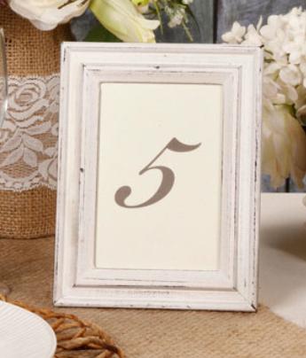 4-pack of distressed framed