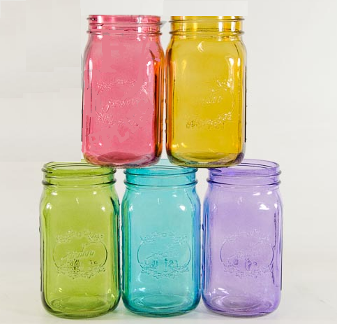 4-pack mason jars wedding decorations