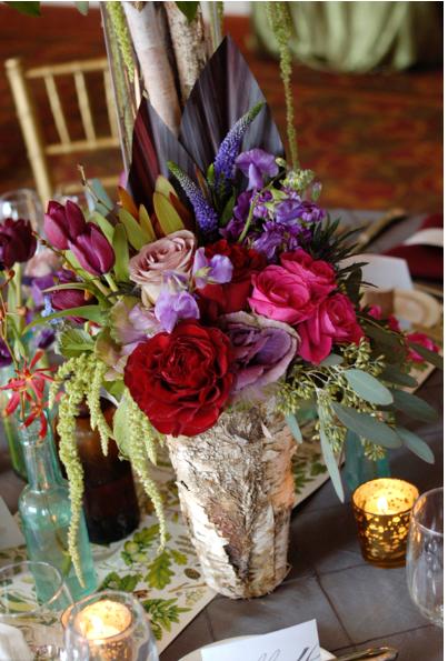 Birch Vases set of 3