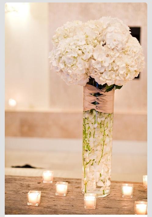 "20"" tall cylinder vase"