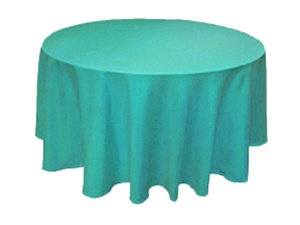 Colored Round Tablecloths 90""