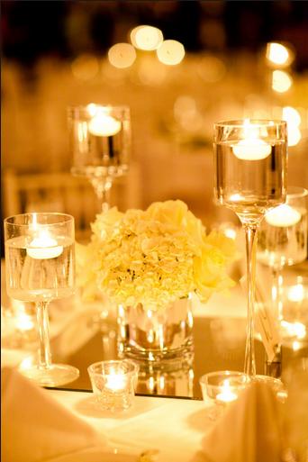 6 Square Centerpiece Mirrors Wedding Decorations