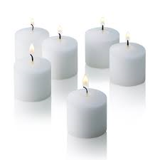 24 pack of white standard votives
