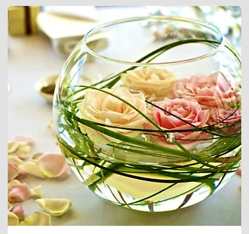 Set of 4 Bubble Vases