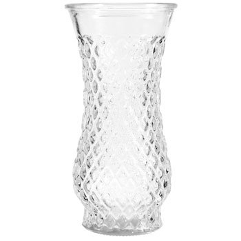 12 pack of diamond textured vases