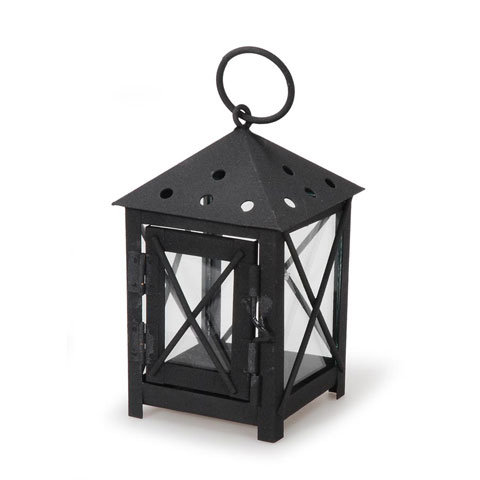 Small Modern X lanterns 4 pack