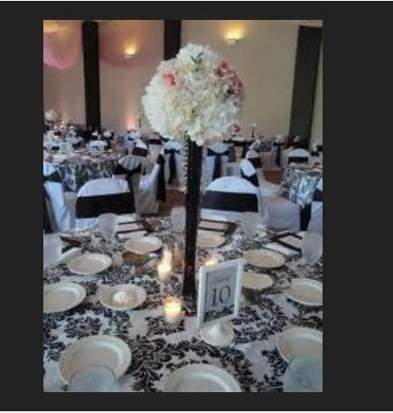 "Tower Vases 20"" centerpiece wedding decorations"