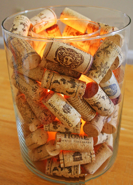 90 new wine corks