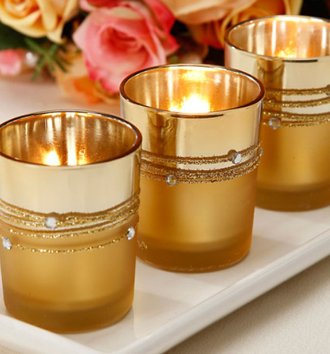 36 stunning gold candle holders