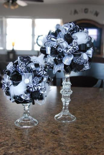 Tall Candle pillar or flower ball Holders 6 pack