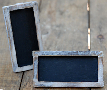 Standing Chalkboards 6 pack