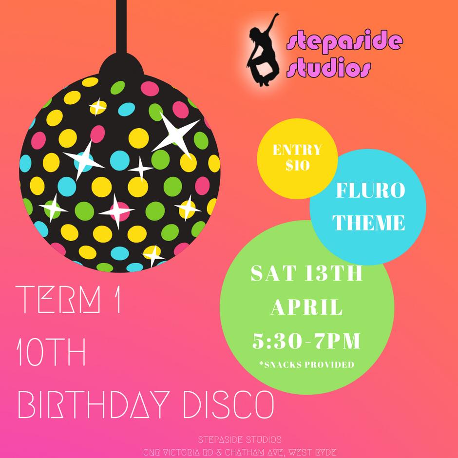 10th Birthday Disco