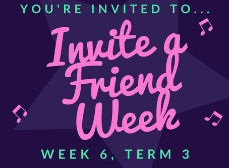 Invite A Friend Week