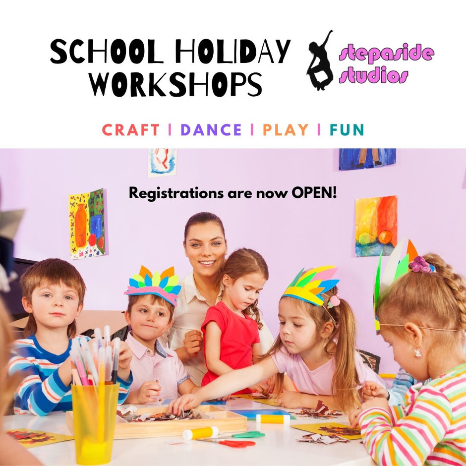 April School Holiday Workshops are coming...
