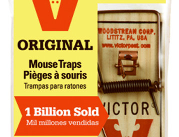Victor, 2 Pack, Metal Pedal Mousetrap