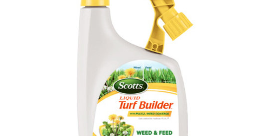 Scotts® Liquid Turf Builder® with Plus 2® Weed Control
