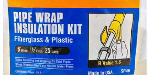 Frost King Pipe Wrap Insulation Kit