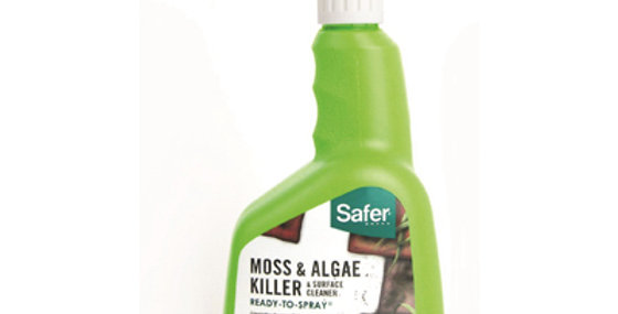 Safer 32oz Moss & Algae Killer & Surface Cleaner