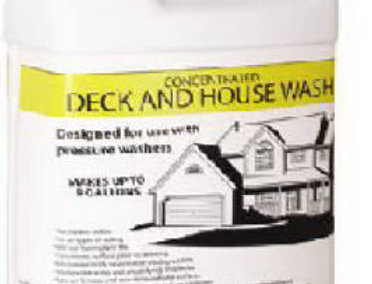 Deck & House Wash, Concentrated Formula - Gallon