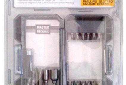Master Mechanic 29pc Screwdriver Bit Set
