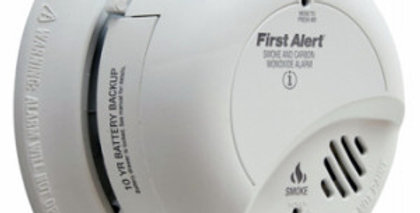 First Alert Hardwire Combination Smoke and Carbon Monoxide Alarm, Battery Backup