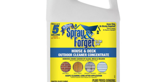 Spray & Forget Concentrate No Rinse House & Deck Cleaner
