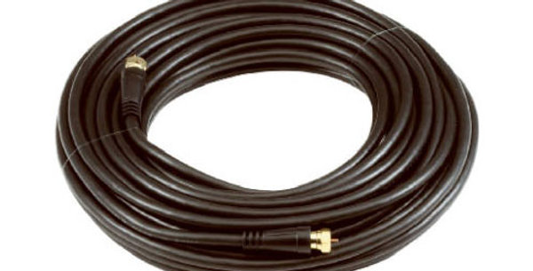 Audiovox 50 FT Black RG6 Coaxial Cable