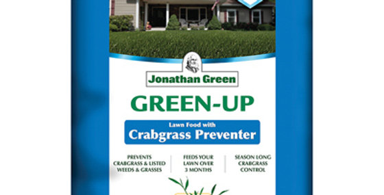 Jonathan Green Crabgrass Preventer plus Green-Up Lawn Fertilizer 15LB