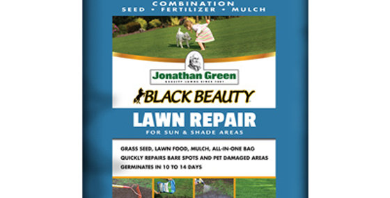 Jonathan Green Black Beauty Lawn Repair For Sun & Shade 13.5LB