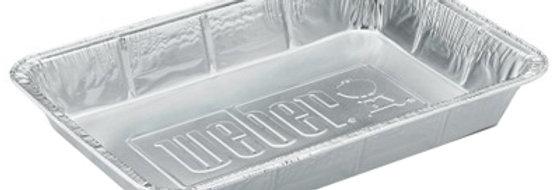 Weber Aluminum Drip Pan Foil Liners, 10-Pack